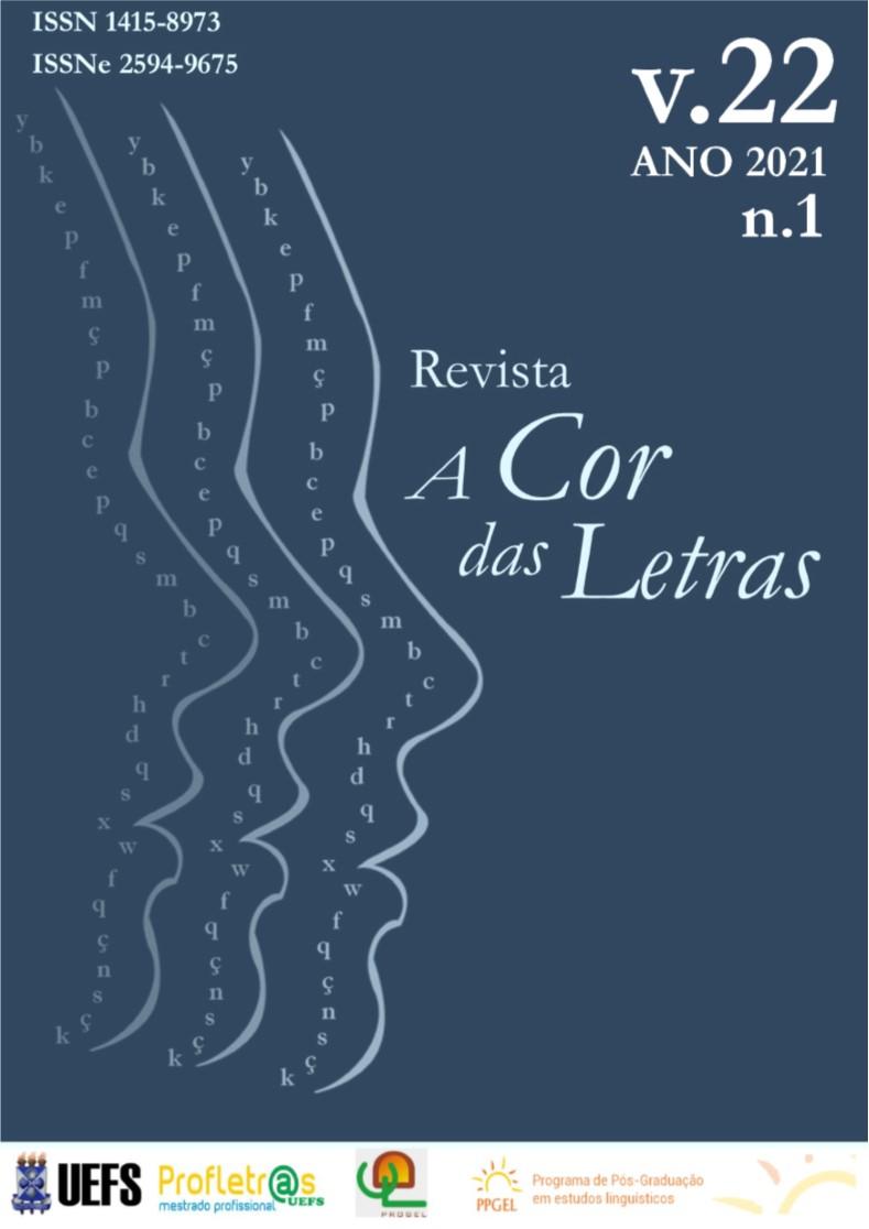 Visualizar v. 22 n. 1 (2021): Estudos Linguísticos e Filológicos