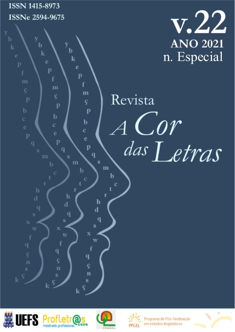 Visualizar v. 22 n. Esp. (2021): Número Especial: Sociolinguística, Dialetologia e Ensino de Língua Portuguesa